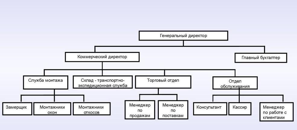 Структура общества с ограниченной ответственностью
