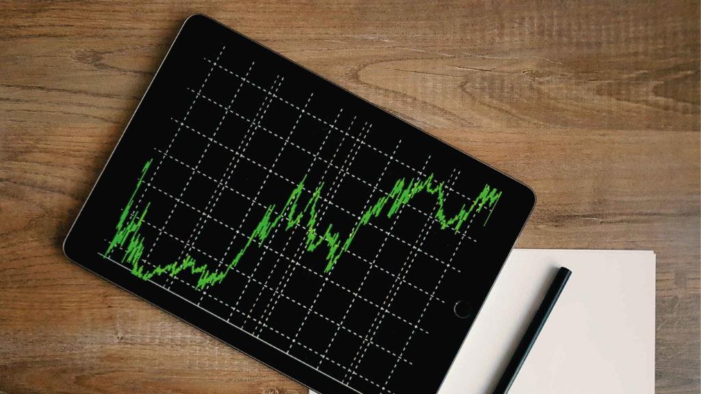 График роста ценных бумаг
