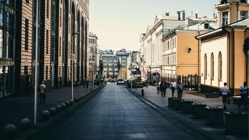Проспект московской улицы