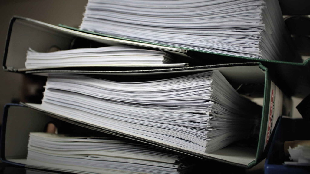 Стопки документов