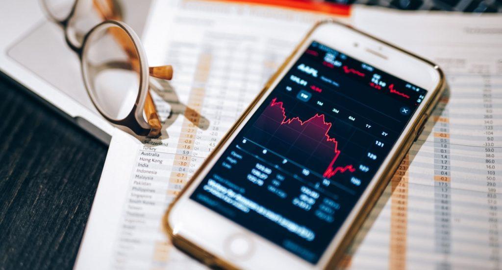 Фондовые актвы в телефоне
