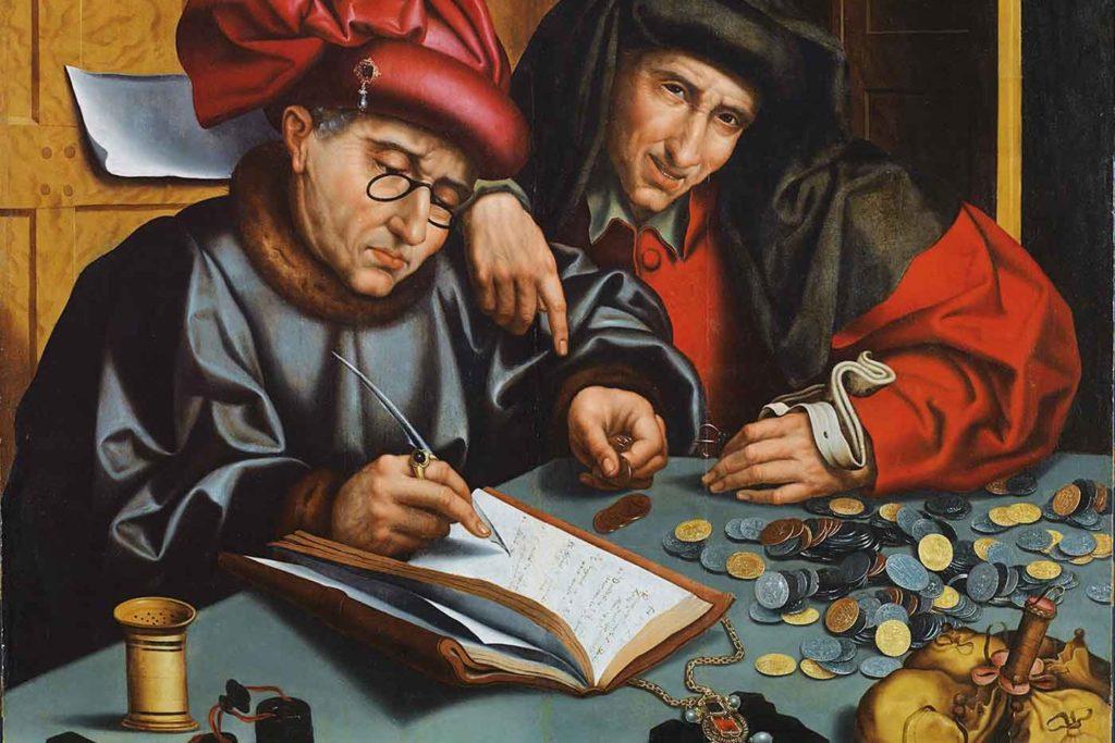 Итальянская картина бухгалтер