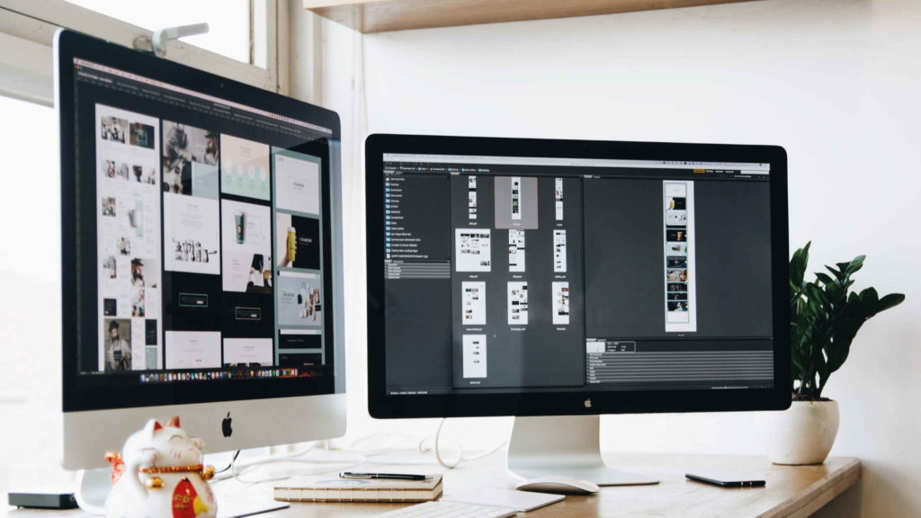 Компьютерный стол с сайтами для заработка